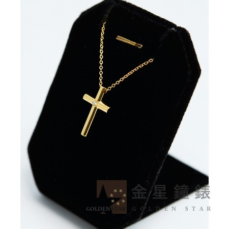 Tiffany & Co 蒂芬妮 十字架鑽墜