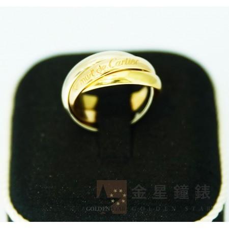 Cartier 卡地亞 三色三環戒