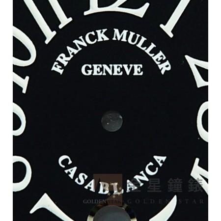 法蘭克穆勒 8880專用面盤 黑(日曆窗白)