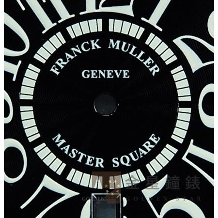 法蘭克穆勒 6000H專用面盤 黑