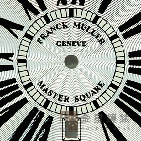 法蘭克穆勒 6000H專用面盤 白