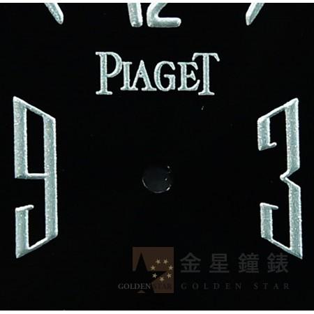 伯爵 1967專用面盤 黑(銀字)