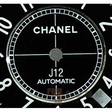 香奈兒 J12 H0685專用面盤 黑 38mm