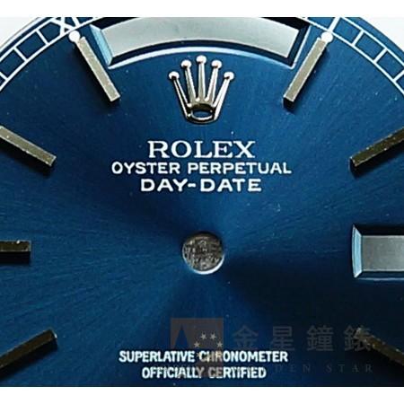 勞力士 Day-Date 18239專用面盤 藍